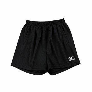 V2TB3A0909 (黑)高透氣吸汗快乾 男素色短版排球褲 【美津濃MIZUNO】