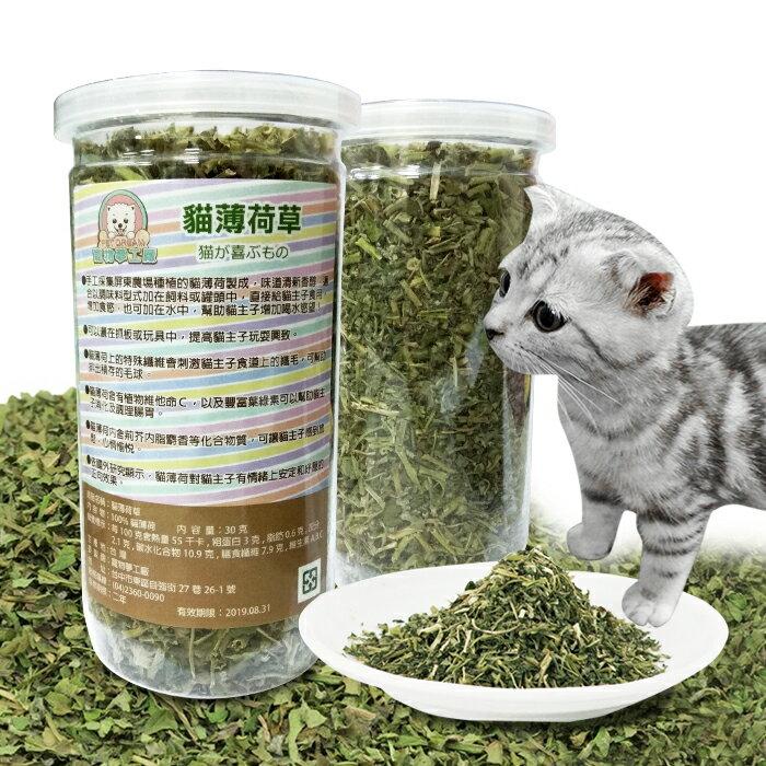 貓薄荷草 30g MIT  貓草 幫助腸胃蠕動 排出毛球 貓零食 貓咪 喵星人 抒壓 放鬆 樂天雙12