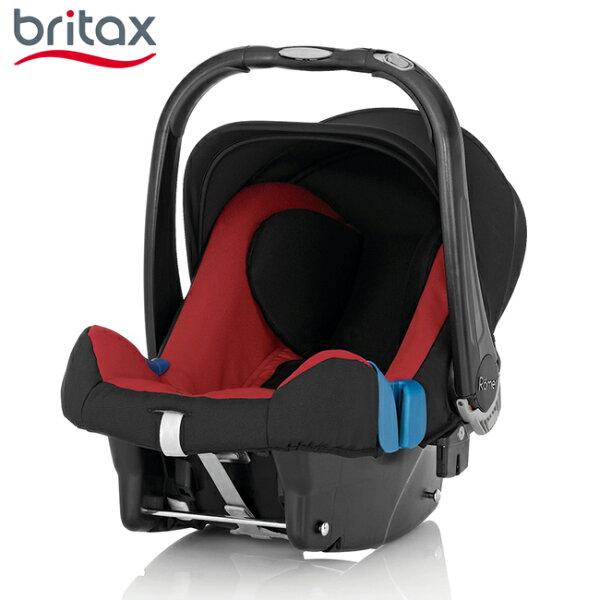 【店長指定款→買就送涼被】【Britax】BabySafePlusSHRII旗艦提籃型汽座(紅)