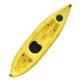 【3米單人釣魚皮划艇-P04-標配-300*78*35cm-1套/組】獨木舟 釣魚船 滾塑硬艇塑膠艇 平臺舟 海洋舟(裸艇,需預定+海運)-7682040