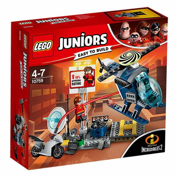 【LEGO樂高積木】Junior系列-超人特攻隊2ElastigirlsRooftopPursuit-LT-10759