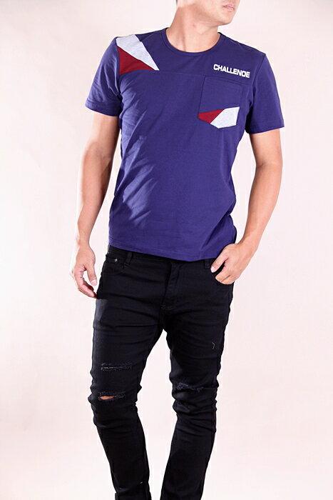 【CS衣舖 】韓系 合身版 萊卡彈力 短袖T恤 3107 3