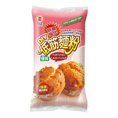 日正 營養強化低筋麵粉 500g【康鄰超市】 0