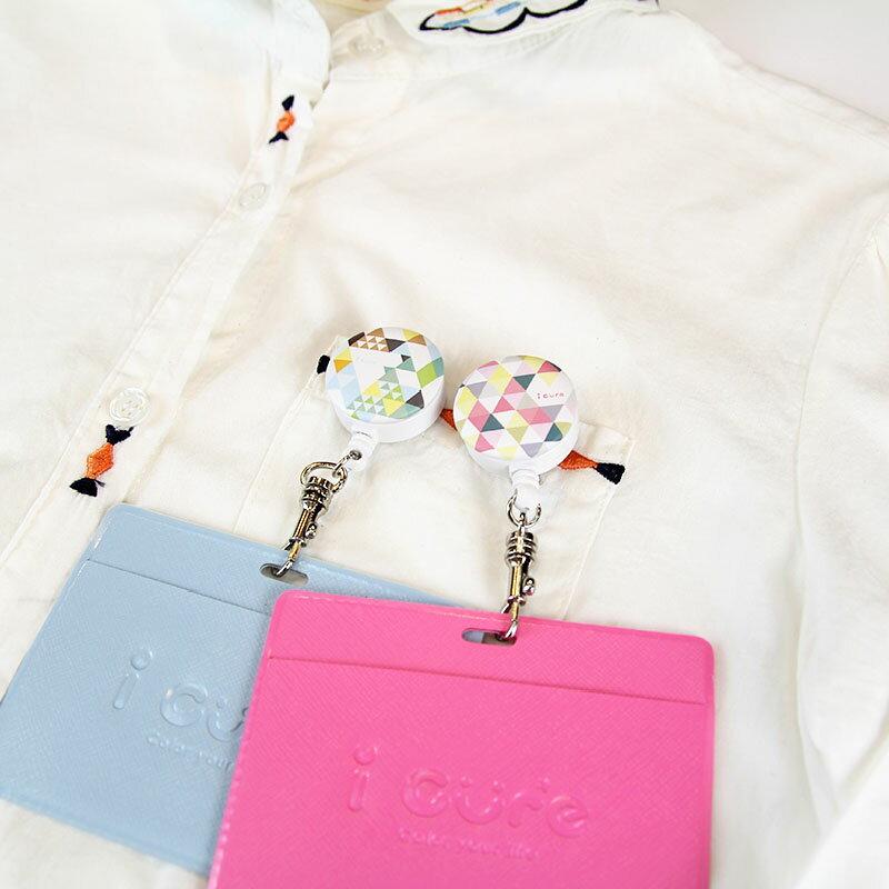 i 好夾證件卡套組-幾何系列-玫瑰花園&爽朗山巒(共兩款) 悠遊卡 旅行 證件夾
