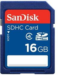 新帝 SanDisk 16GB 16G SDHC SD SDHC class4 相機記憶卡SDSDB-016G-B35 ★★★ 全新原廠公司貨5年保固★★★含稅附發票