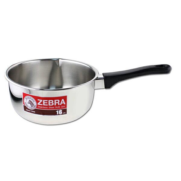 🌟現貨🌟斑馬牌雪平鍋16cm/18cm/20cm 斑馬雪平鍋 牛奶鍋 單把湯鍋 斑馬單把鍋 304不鏽鋼湯鍋