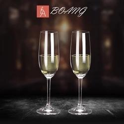 紅酒杯-歐式香檳杯套裝6只裝創意婚禮水晶紅酒杯高腳杯甜酒杯起泡酒杯2個