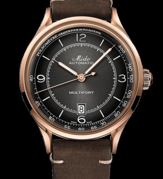 MIDO 美度 MULTIFORT先鋒系列 先鋒系列 脈搏腕錶 M0404073606000 黑/40mm