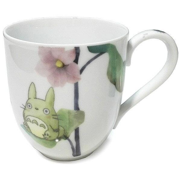 【真愛日本】18021100007 精緻瓷杯-蔬果彩繪茄子 宮崎駿 龍貓 TOTORO 馬克杯 Noritake