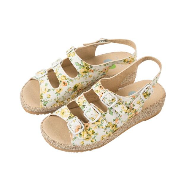 【現貨免運】MIT提花機能涼鞋-黃薔薇-2色-YS801