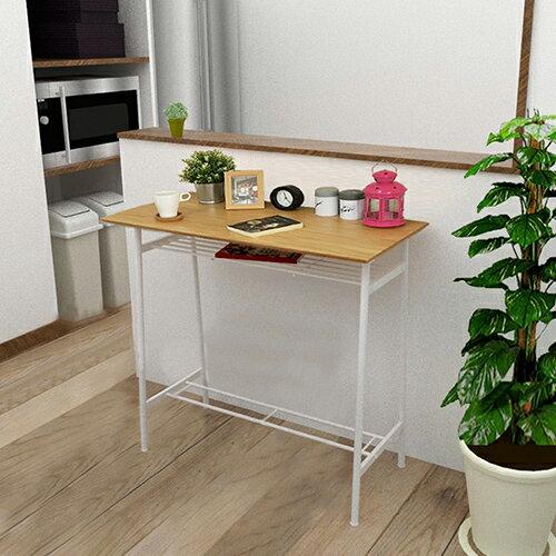 《C&B》印塔工業風實用吧檯桌(兩色可選)