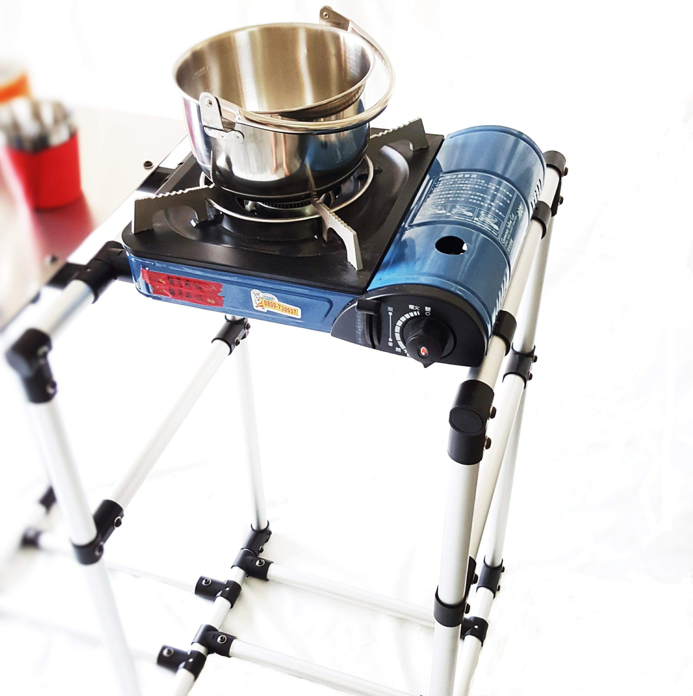 多功能置物架 / 冰桶架 / 爐架 / 雜物架 TA1605-002 (需搭配TA1605才可使用)