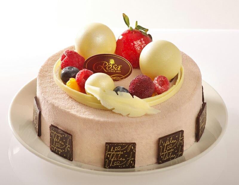【羅撒蛋糕】生日蛋糕|「芋之戀」芝麻芋泥慕斯蛋糕|6吋~8吋