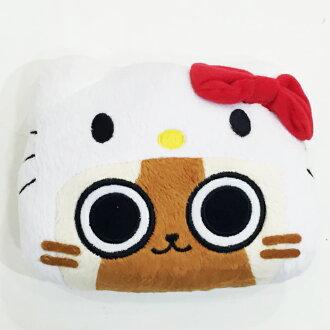 Hello Kitty 艾露村聯名 票卡套 悠遊卡套 零錢包 伸縮 文具 配件 正版日本進口限定販售 JustGirl