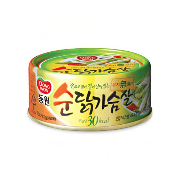 DONGWON韓國雞胸肉罐頭(原味)135g
