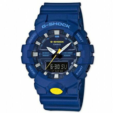 G-SHOCKGA-800SC-2A強悍多功能運動錶防水GA-800SC-2ADR藍色【迪特軍】
