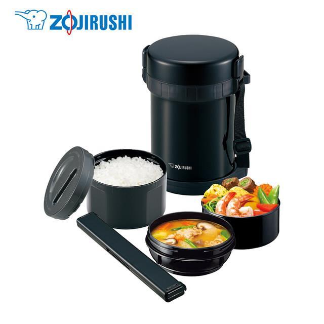 『ZOJIRUSHI』☆ 象印 不鏽鋼真空保溫便當盒(約3碗飯) SL-GH18 **免運費**