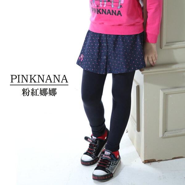 Pink Nana:PINKNANA童裝女童大童點點牛仔棉質褲裙內搭褲35219