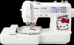 日本 [brother] Hello Kitty NV-980K 電腦刺繡縫紉機