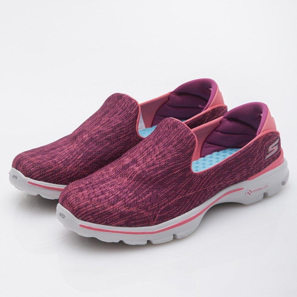 [ALPHA] SKECHERS GO WALK 3 14157ROS 女鞋 健走鞋 記憶鞋泡棉鞋墊