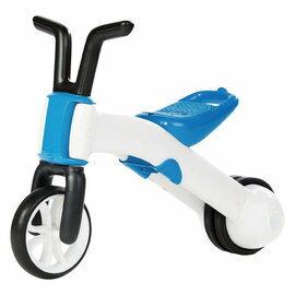 【淘氣寶寶】比利時Chillafish二合一寶寶平衡車-海水藍【三輪變二輪,高CP值的幼兒玩具車】