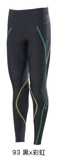 [陽光樂活]-MIZUNO美津濃 男款 BG5000 機能壓縮緊身褲A60BP-30093 黑x彩虹