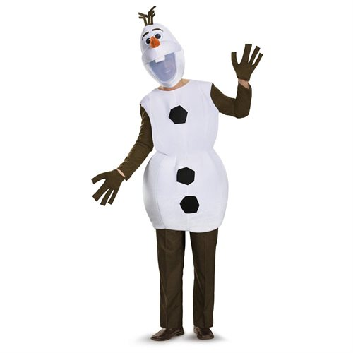 Disney Frozen Olaf Deluxe Adult Plus Costume X-Large 42-46 0