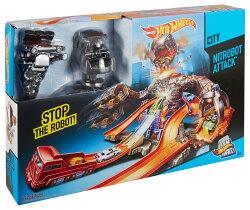 【美泰兒流行玩具】風火輪怪獸機器人軌道組