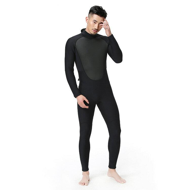 美琪 防寒保暖男連體潛水服韓版潛水衝浪浮潛泳衣