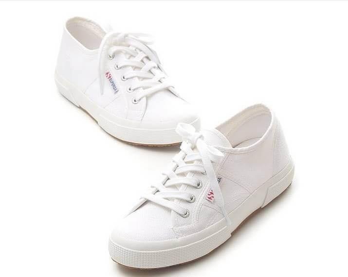 【Superga】2750plus 內增高\鬆糕鞋\義大利國民鞋 3
