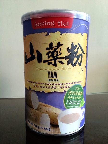 愛家 山藥粉(純素) 500g/罐
