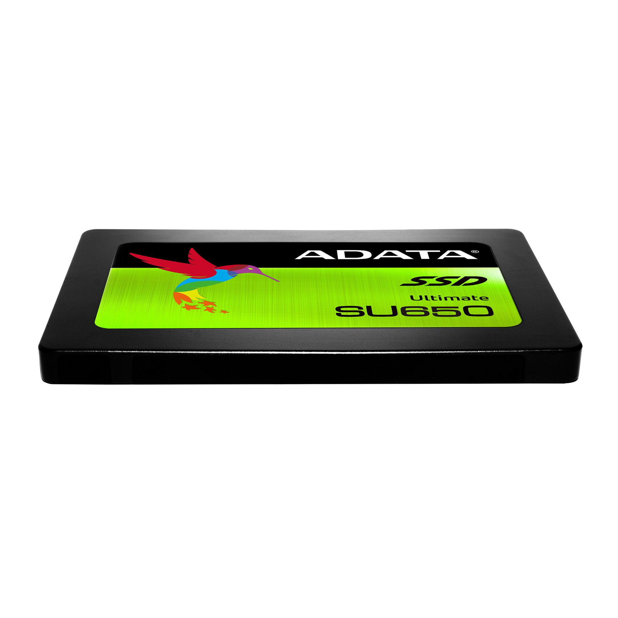 "ADATA Ultimate SU650 3D NAND 2.5"" 480 GB SSD (ASU650SS-480GT-C) 3"