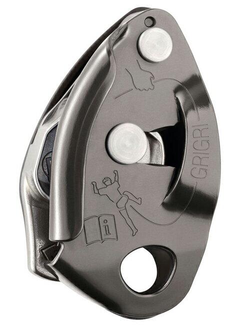 【鄉野情戶外用品店】 Petzl |法國| GRIGRI 確保器/自動制停保護 下降器-灰/D14