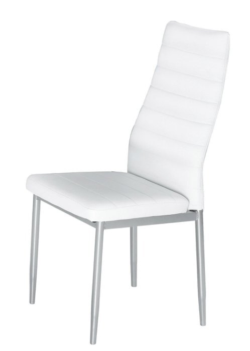 ~尚品傢俱~JF~988~12 馬可白皮餐椅