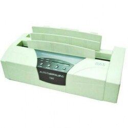霸世牌BAS T-80 桌上型電子式膠裝機【自動夾本/LED顯示裝訂時間】