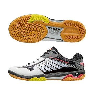 71GA170509(白X黑X黑)WAVE FANG RX 2 高階羽球鞋 S【美津濃MIZUNO】