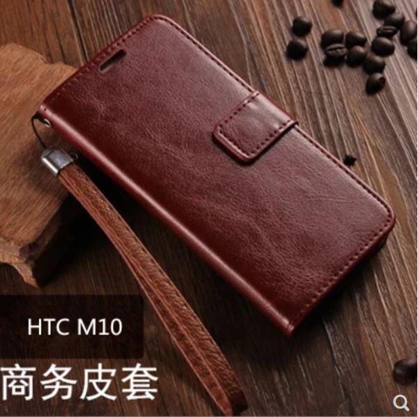 HTCM10星奇翻蓋商務保護皮套