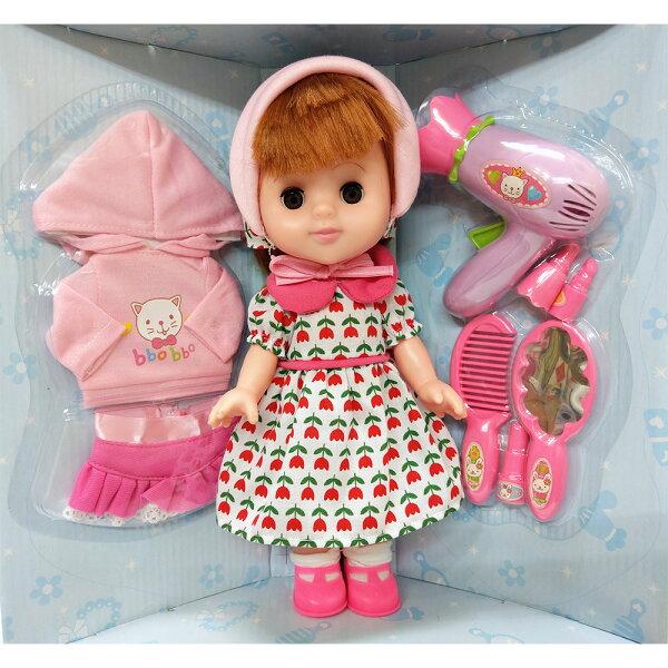 【孩子國】綺妮旅行組換裝娃娃(ST安全玩具認證)