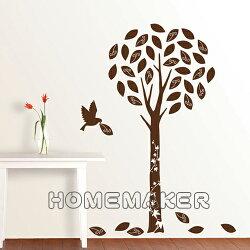 韓國絨布創意壁貼_HVS-58608 (買一送一)