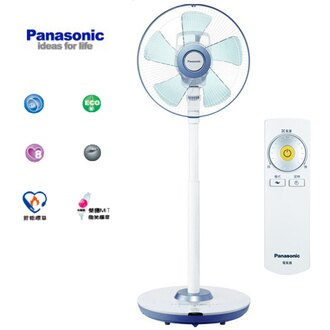 Panasonic 國際牌 F-L14DMD 14吋 DC直流電風扇 酷勁藍