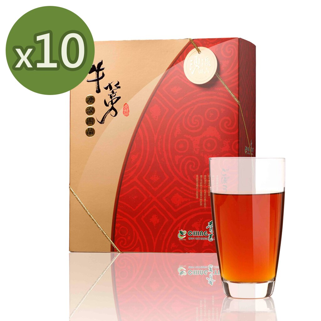 青玉牛蒡茶 湧湶四品牛蒡茶包  6g~40包  盒 x10盒