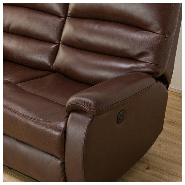 ◎全皮2人用頂級電動可躺式沙發 BELIEVER ROYAL DBR NITORI宜得利家居 5