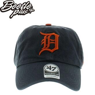 BEETLE PLUS 全新 現貨 47 BRAND 老帽 DETROIT TIGERS 底特律老虎 鐵灰 橘 DAD HAT 棒球帽 MLB MN-431