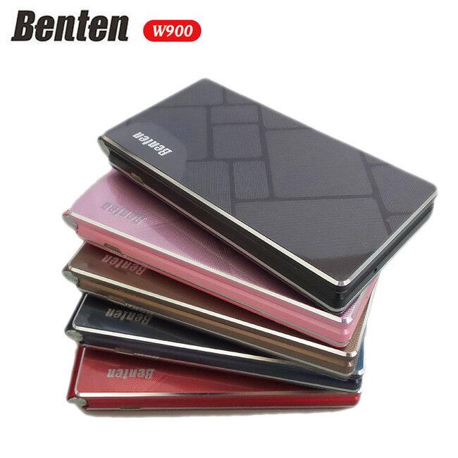 Benten W900鋁合金美型3.3吋超大螢幕摺疊機  3G  支援FaceBook◆送