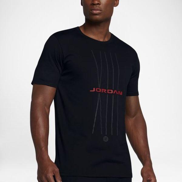 NIKE JORDAN AJ3 男裝 短袖 休閒 喬丹 棉質 舒適 黑 【運動世界】908423-010