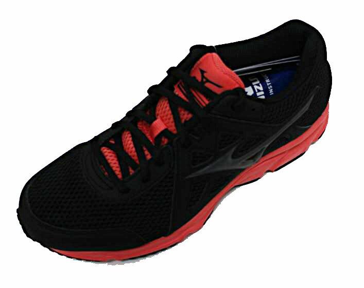 MIZUNO 美津濃 女 SPARK 2 慢跑鞋 入門跑鞋 緩衝 透氣 超耐磨橡膠底 K1GA170451 (黑粉)[陽光樂活]