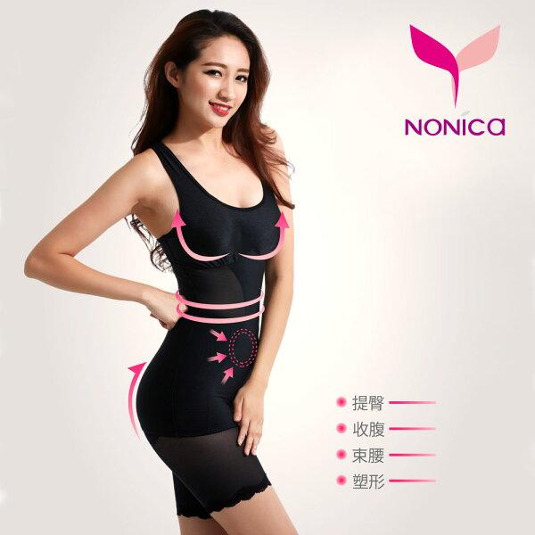 諾妮卡創意時尚館:MIT時尚輕雕塑型內衣(一年四季皆適宜)黑色【Nonica諾妮卡】