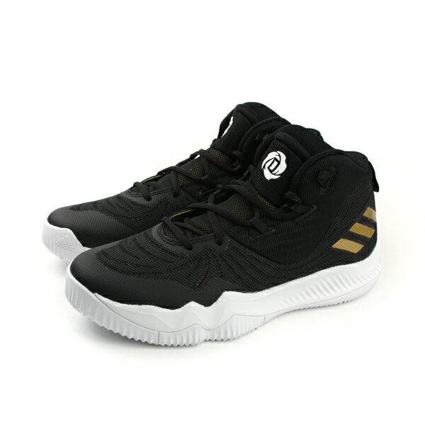 adidas D ROSE DOMINATE III 鞋 籃球鞋 腳跟穩定 黑色 男鞋 C