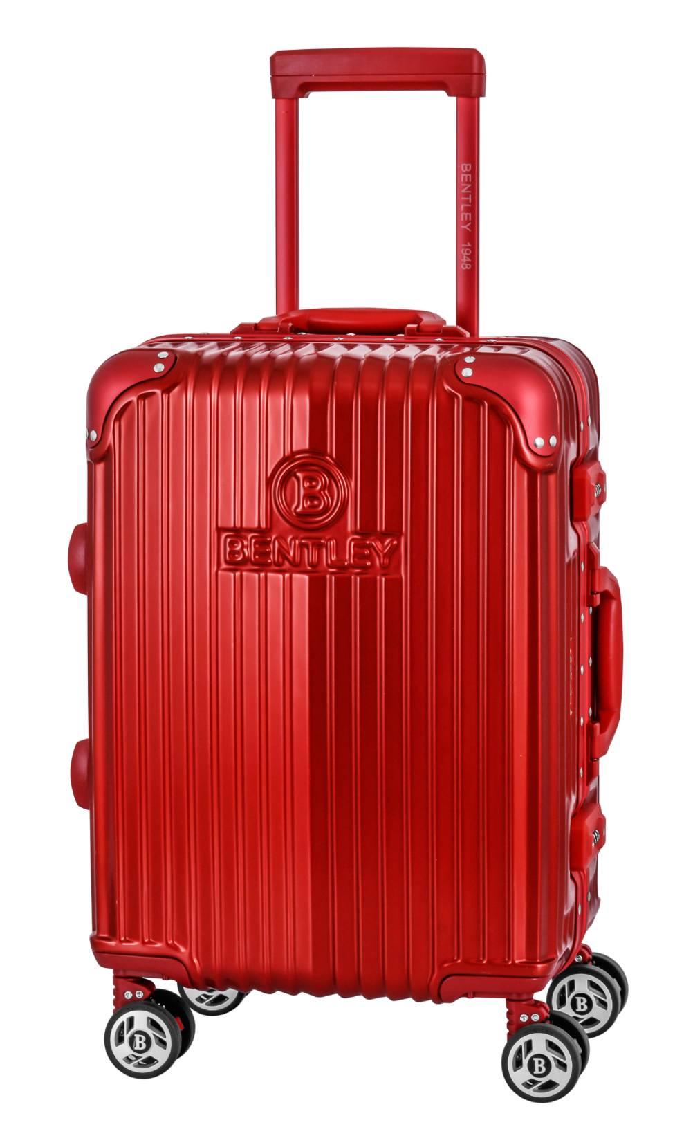 【加賀皮件】Bentley 賓利 PC+ABS 鋁框 硬殼 行李箱 20吋 旅行箱 BL-L1207