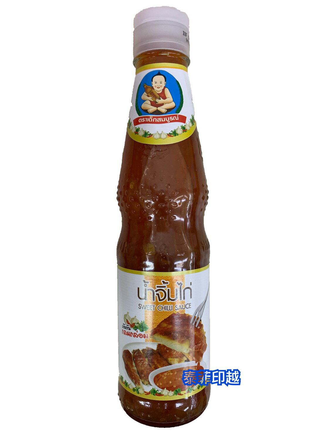 {泰菲印越} 泰國 仁和園 燒雞醬 甜雞醬 泰式甜辣醬 涼拌 月亮蝦餅沾醬350克